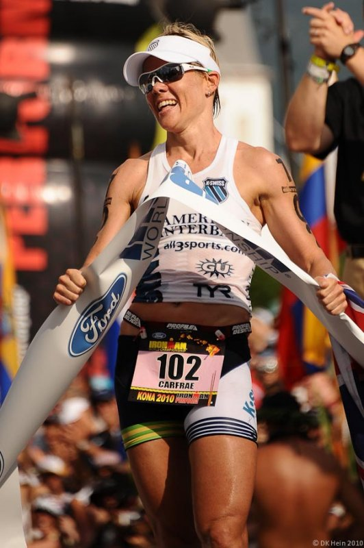 Miranda Carfrae, Ironman Kona 2010 Women's Winner