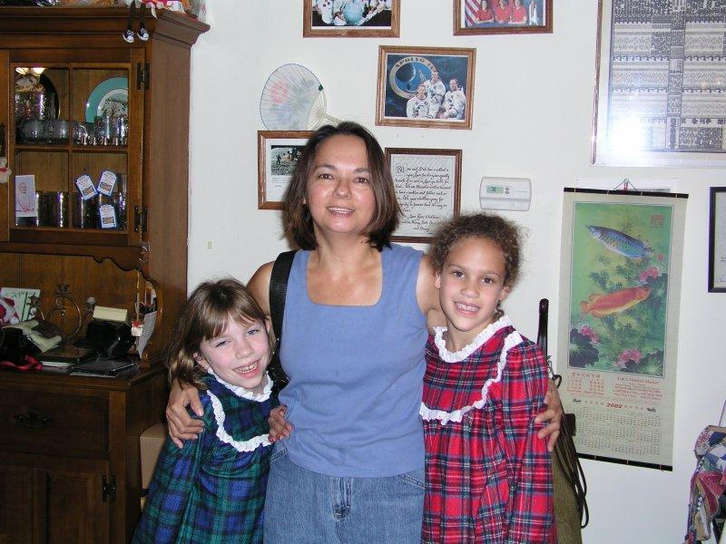 Joyce, Amanda and Emily