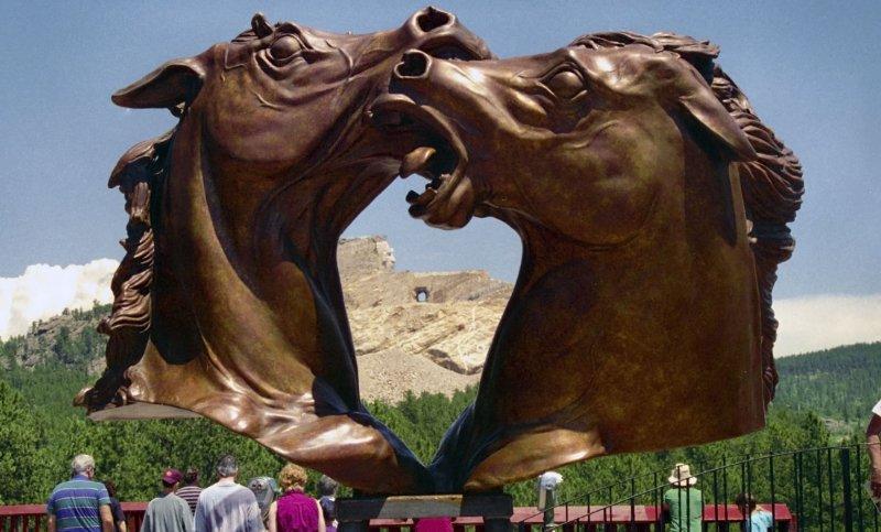 Crazy Horse Monument, South Dakota (circa 1995)