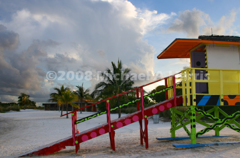 Lifeguard Tower - Biscayne Bay