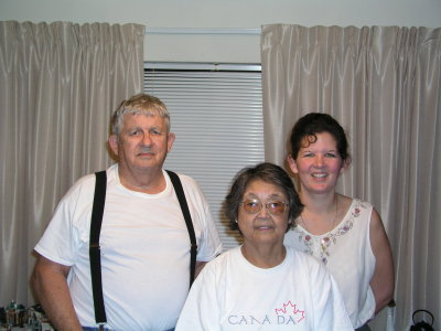 Pop, Grandma and Regina