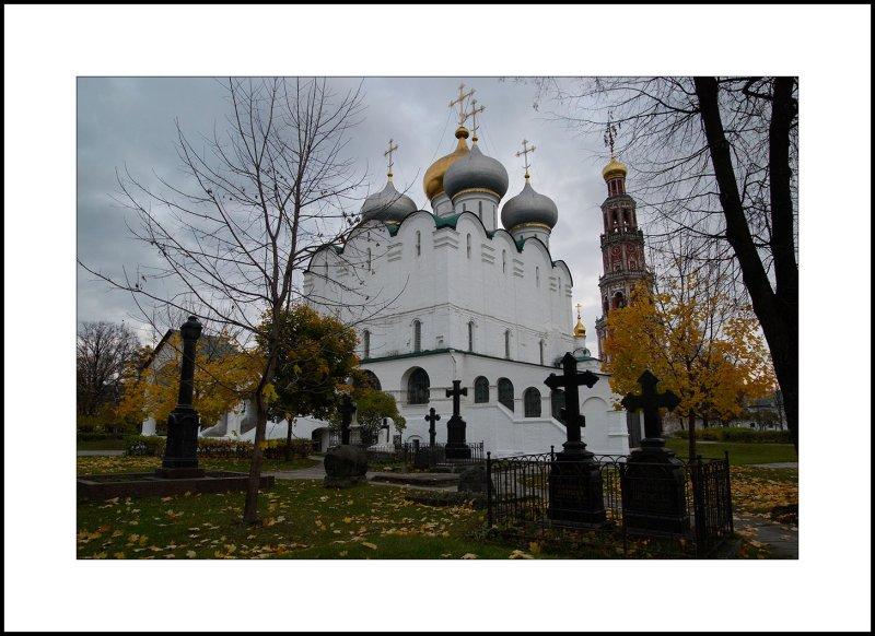Moscow, Novodevichy monastery. Smolensk Cathedral. 1704