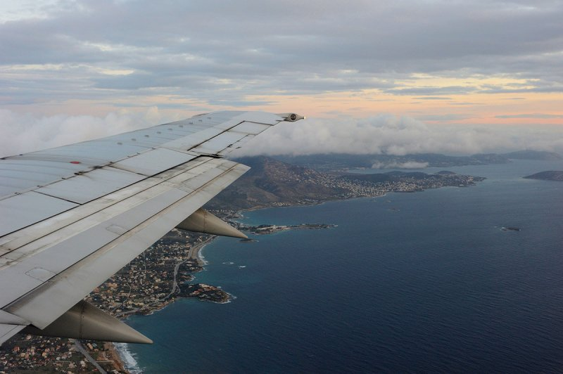 descending Athens