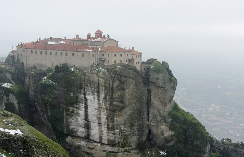 Meteora. Agios Stephanos monastery