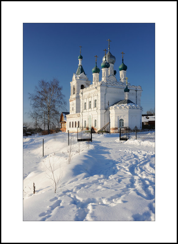 Moscow region, Village of Zhestylevo. Pokrovskaya church. 1896-1904