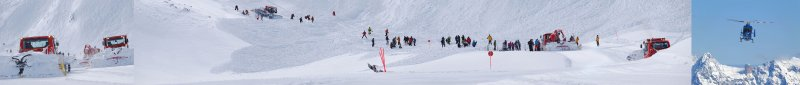 Mount Kitzsteinhorn. Avalanche