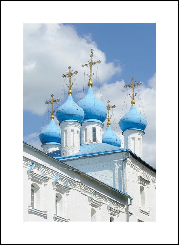 The city of Bryansk. Pokrova Bogoroditsy (The Intercession of the Holy Virgin) church XVII