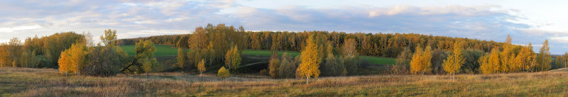 Moscow region, Fall colors