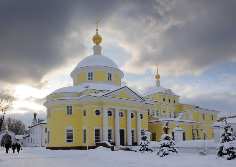 Moscow region, town of Vidnoye, the Monastery of St. Catherine, XVII
