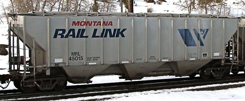 MRL 45015  - Blossburg, MT (4/6/08)
