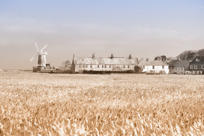 Frosty Morning at Cley Mill