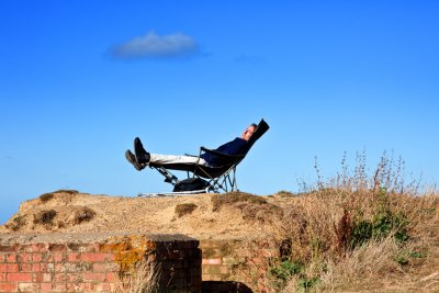Your own spot on the edge of a cliff  (don`t  try this on a windy day:-)