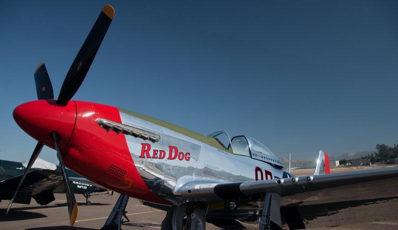Ron Pratts P-51D Mustang RedDog