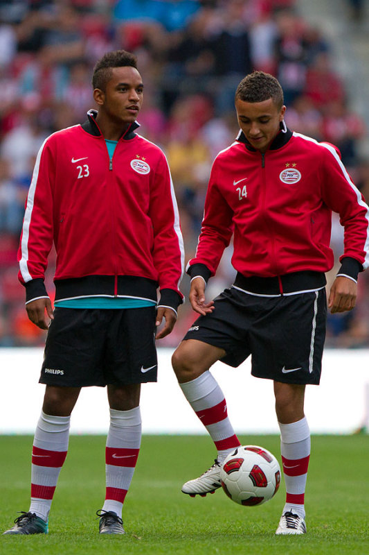 PSV youngsters Ojo and Labyad