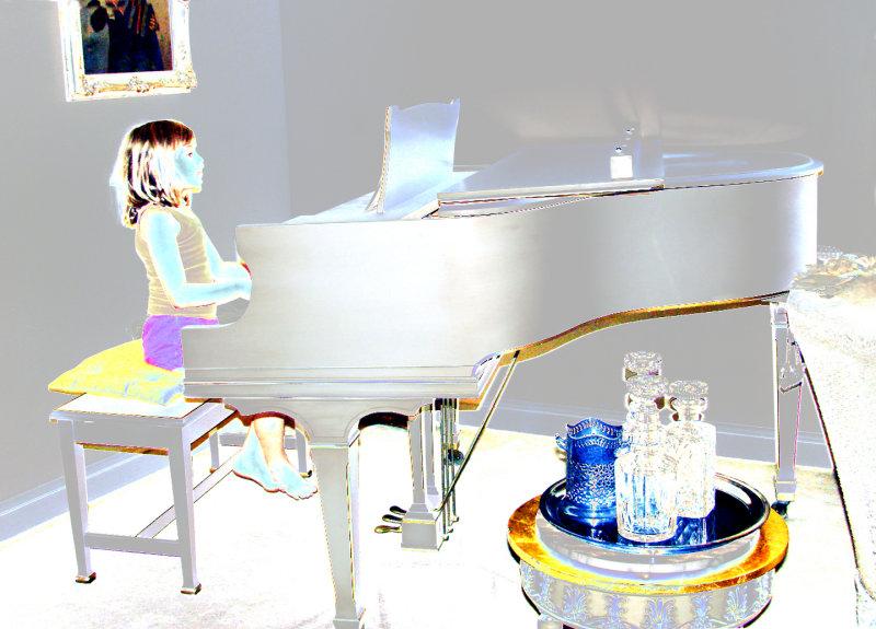 Piano at Grandmas