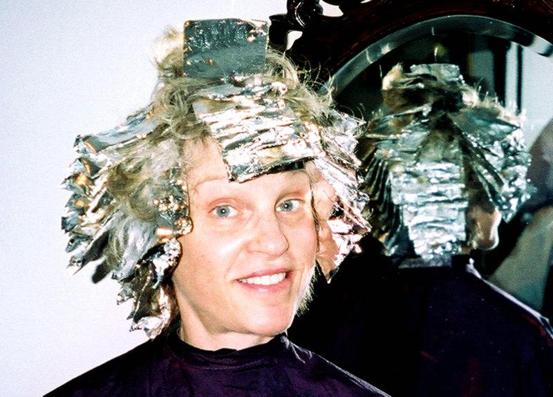 Woman in Tin Foil
