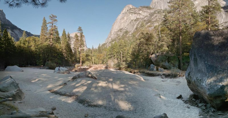 Yosemite very dry mirror lake (28 image mosaic).jpg