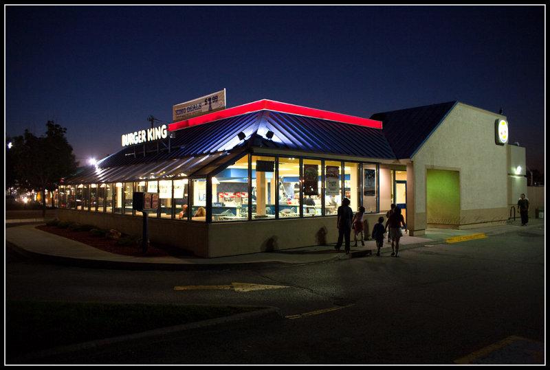 Burger King at Lakeshore & Leslie