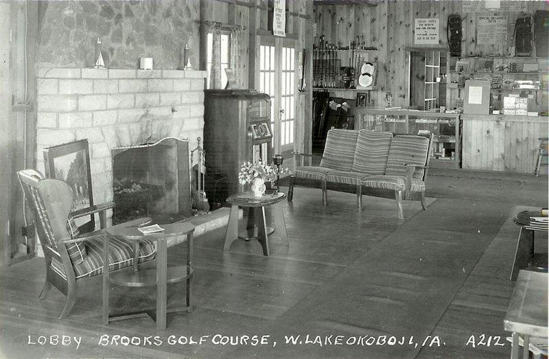 Brooks Lobby Golf Shop