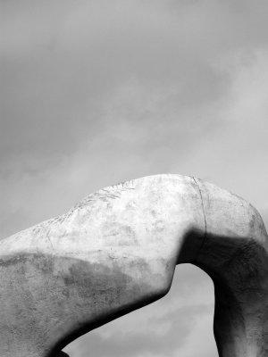 Wisley Statue Feb 2008