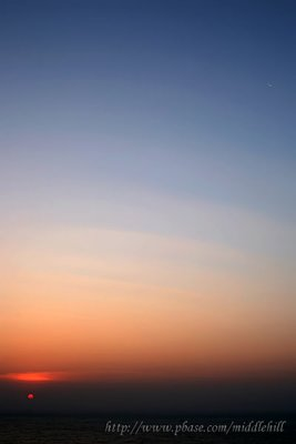 Year 2011 Sunrise at East Dam, High Island Reservoir, Sai Kung