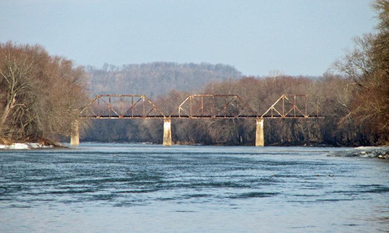 Railroad bridge at Big Pool