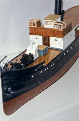 Hans Breders modell av Børøysund