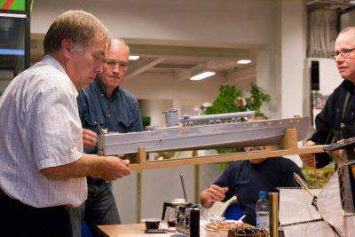 Modellen har også lys i tre nivåer: Navigasjonslys, lys i førerhytte, og lys under dekk.