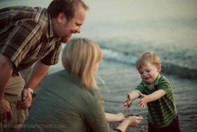 Family pictures at Weko Beach in Bridgman Michigan.