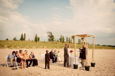 Tiscornia Beach Wedding Photography