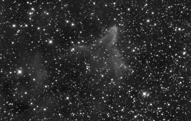 Gamma Cas Nebula - The evil emperor