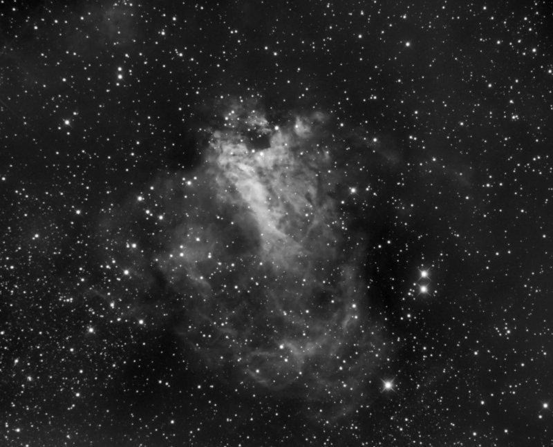 M-17, the Omega Nebula