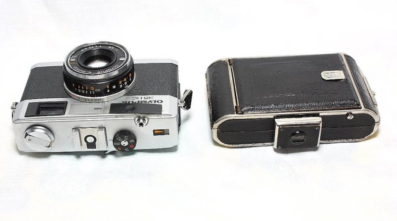 Size compared to Olympus 35RC