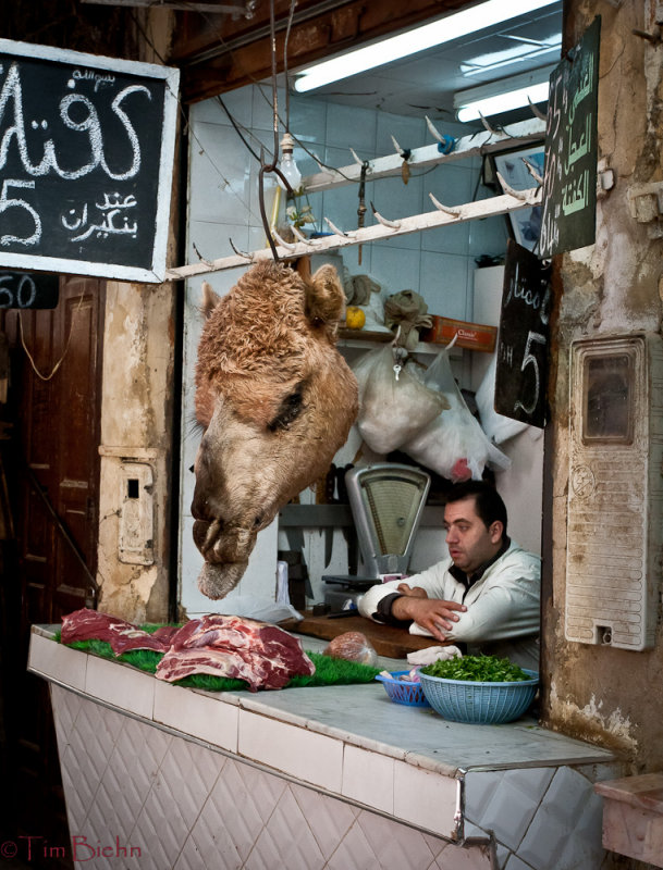 Meat Markets in the Fez Medina