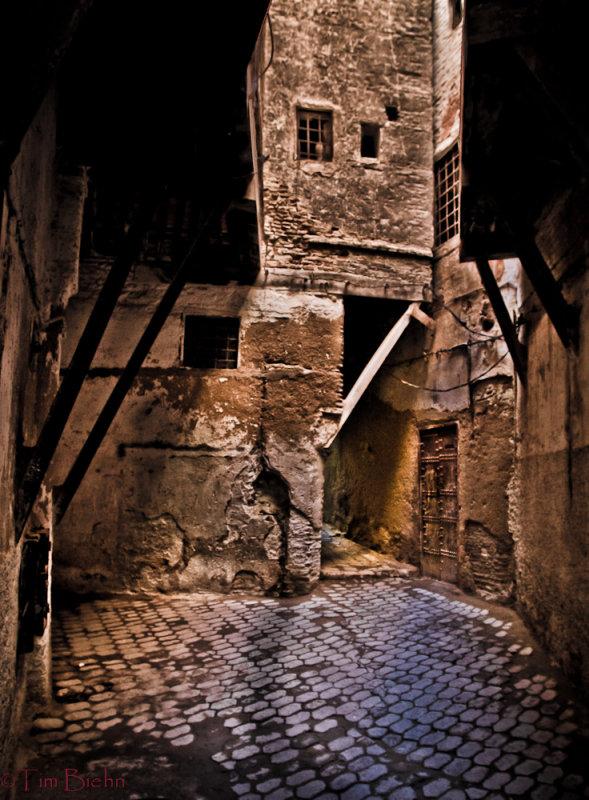 Through The alleys of the Medina