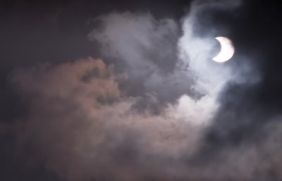 Partial solar eclipse January 26th 2009
