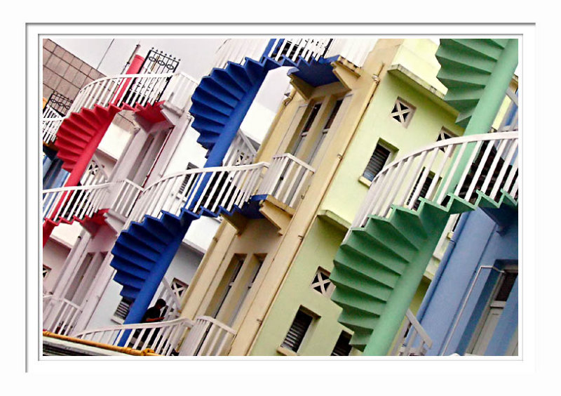 Colorful Staircase 1