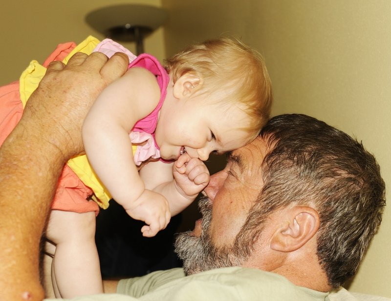 THIS IS MY FAVORITE PICTURE OF OUR GRAND DAUGHTER PRESLEY AND WE TOOK ALOT OF THEM