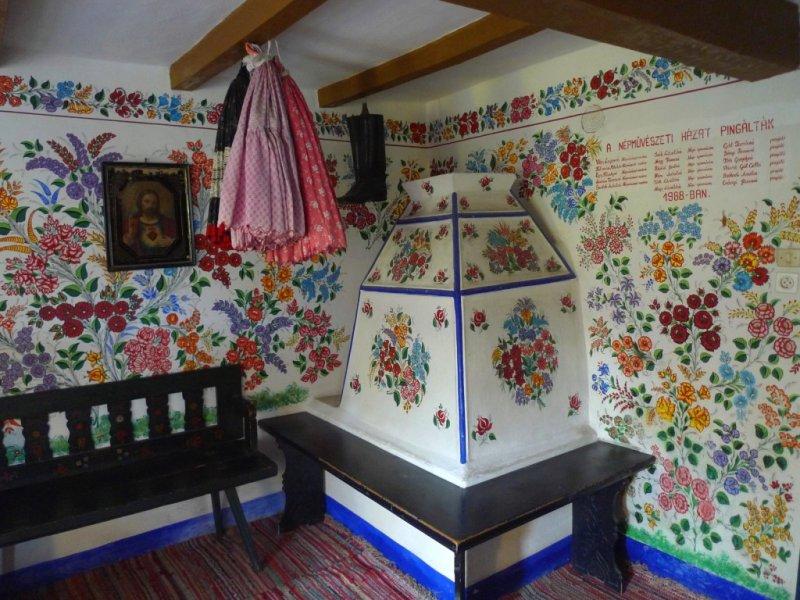 Room in House of Hungarian Folk Art