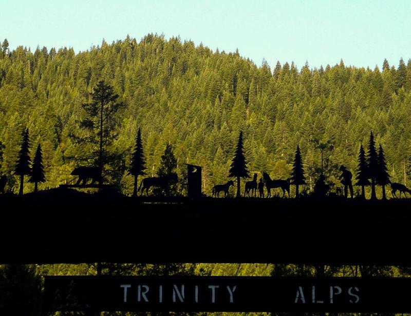 <B>Gate</B> <BR><FONT SIZE=2>Trinity Alps Resort, August, 2007</FONT>