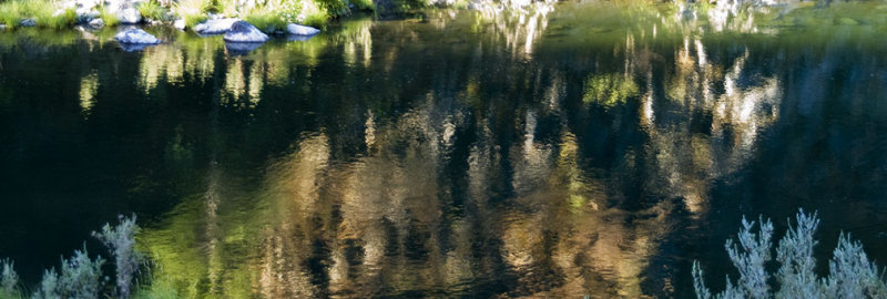 <B>Reflected Colors </B> <BR><FONT SIZE=2>Trinity River, August, 2007</FONT>