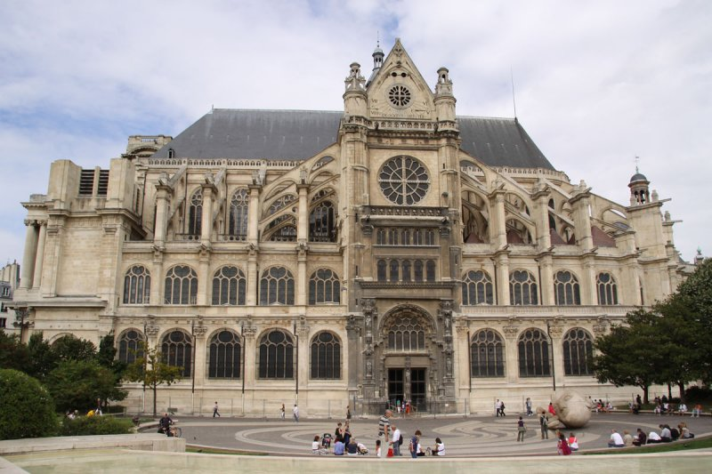 St. Eustache Church at Halles
