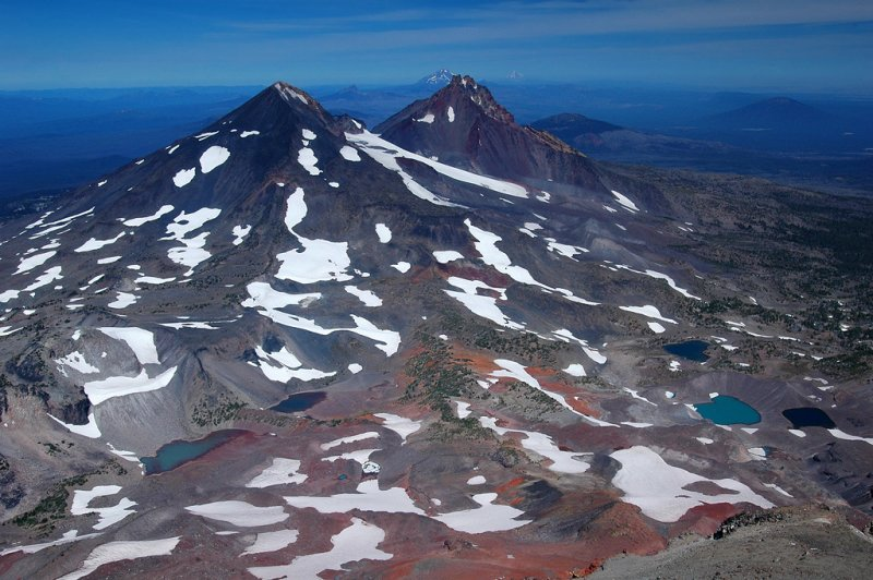 View from South Sister summit, #1
