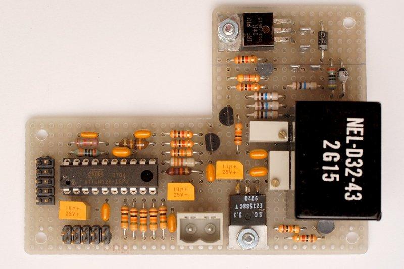 pcb external shutter drive.