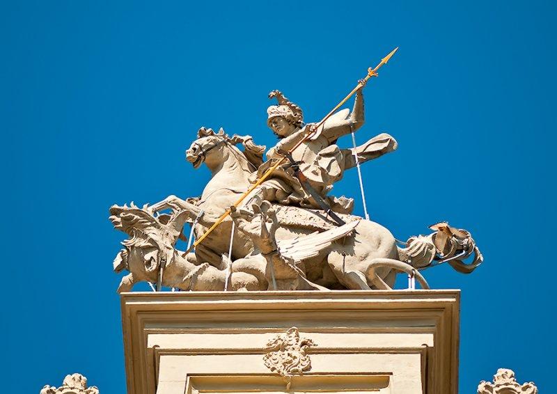 St. George Sculpture