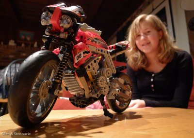 Day 364 - Lego Motorcycle