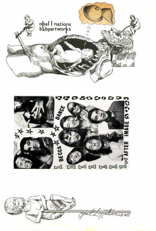 Babyartworks - Decca-Dance postcard