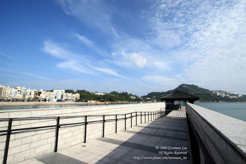 Towards the Pier