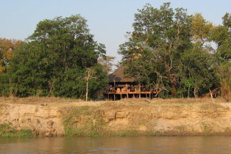 the meeting hut, Kapamba Camp Zambia