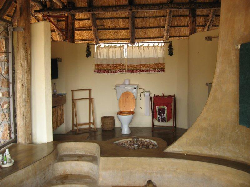 A hut at Kapamba Camp